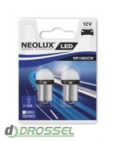 Комплект светодиодов Neolux NR1060CW-02B P21W (BA15S)