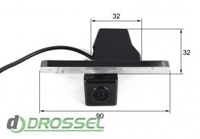 Камера заднего вида Falcon SC72HCCD-170 для Hyundai Grandeur, Co