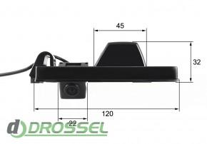 Камера заднего вида Falcon SC73HCCD-170 для Chery Tiggo, A3 (улу