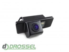 Камера заднего вида Falcon SC74HCCD-170 для Geely MK / Peugeot 3