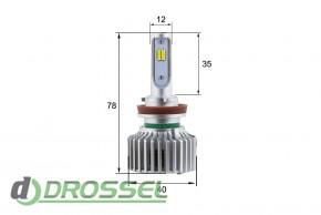 Светодиодная (LED) лампа Sho-Me W1.1 H11 26W_3