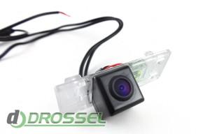 Камера заднего вида Falcon SC85HCCD-170 для Peugeot 408 (улучшен
