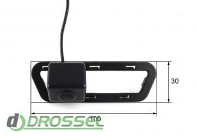 Камера заднего вида Falcon SC87HCCD-170 для Nissan Tiida 2012 (у