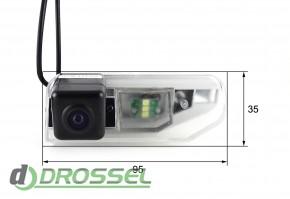 Камера заднего вида Falcon SC93HCCD-170 для Lexus IS300 (улучшен
