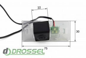 Камера заднего вида Falcon SC95HCCD-170 для Audi A4, Q5, TT, A5