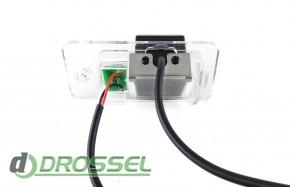 Камера заднего вида Falcon SC97HCCD-170 для Audi A6, A3, A4, Q7,