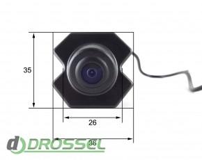 Камера переднего вида Falcon FC02HCCD-170 для Chevrolet Cruze (у