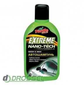 Автошампунь Turtle Wax Extreme Nano-Tech Wash & Wax (500мл)