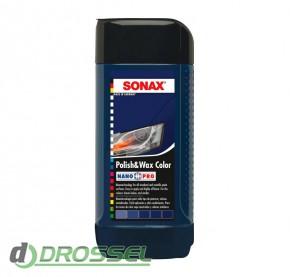 Цветной полироль Sonax Polish&Wax Color NanoPro_4