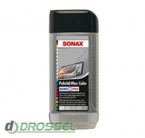Цветной полироль Sonax Polish&Wax Color NanoPro_5