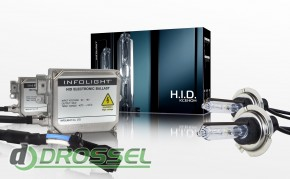 Ксеноновая лампа Infolight H7 +50% 35Вт (5000K)_2