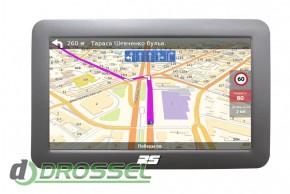 GPS-навигатор RS N501A с лицензионным ПО НавЛюкс
