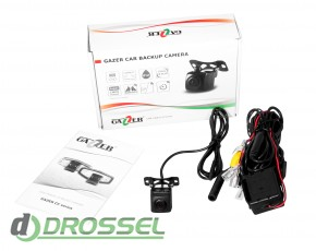 Универсальная камера заднего_переднего вида Gazer CC155-4