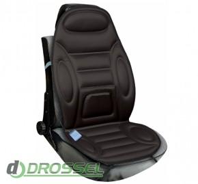Накидка на сиденье с подогревом Lavita LA 140402BK