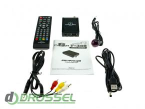 Цифровой ТВ-тюнер DVB-T2 Cyclon T100-4