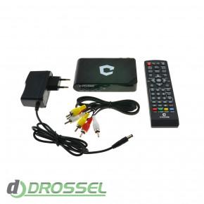 Цифровой ТВ-тюнер DVB-T2 Cyclone T-120-4