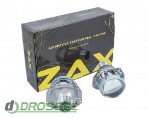 Биксеноновые линзы Zax 3R clean-glass 3,0` (76мм) D2S_2