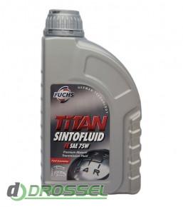 Масло для МКПП Fuchs Titan Sintofluid FE 75W