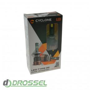 Светодиодная лампа Cyclone HB4 (9006) 5700K 5500Lm CSP type 22-4