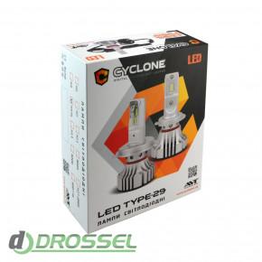 Светодиодная (LED) лампа Cyclone H11 5000K 6000Lm CR type 29-2