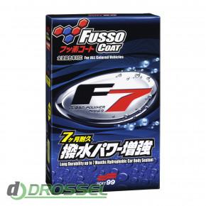 Гидрофобное покрытие для ЛКП Soft99 Fusso Coat F7 10339