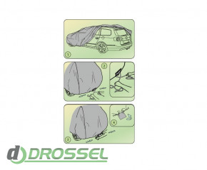 Тент Kegel Basic Garage XL Kombi / Hatchback_3