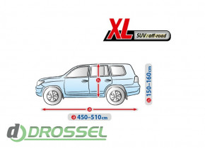 Автотент Kegel Basic Garage XL SUV / Off-Road_2