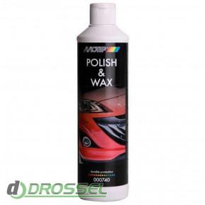 Восковый полироль Motip Polish and Wax 000740BS