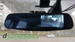 Зеркало заднего вида Vehicle BlackBox DVR_12