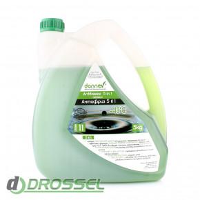 Антифриз Dannev Antifreeze Grønn G11-1