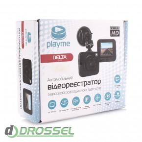 Автомобильный видеорегистратор Playme Delta-5