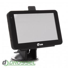 Автомобильный GPS-навигатор Sigma A518_2