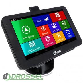 Автомобильный GPS-навигатор Sigma A518