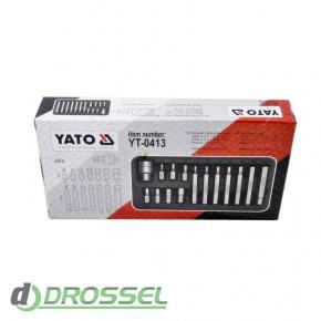 Набор бит Torx с держателем Yato YT-0413_4