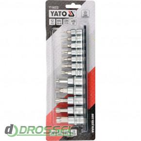 Набор торцевых головок Torx Yato YT-04332_2