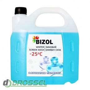 Незамерзающая жидкость в бачок омывателя с ароматом парфюма Bizo