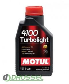 Моторное масло Motul 4100 Turbolight 10W40_3