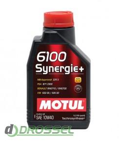 Моторное масло Motul 6100 Synergie+ 10W40_3