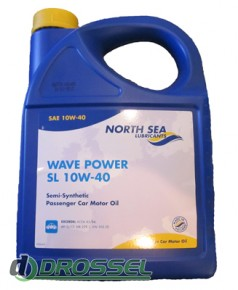 Моторное масло North Sea Wave Power SL 10W-40_1