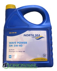 Моторное масло North Sea Wave Power SM 5W-40_1