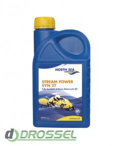 Мотоциклетное моторное масло North Sea Stream Power Syn 2T (1л)
