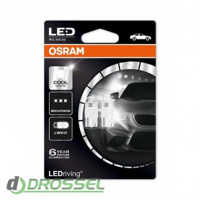 Osram LEDriving Premium 2850CW-02B