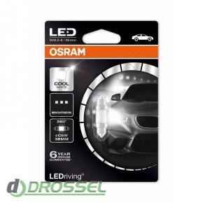 Osram LEDriving Premium 6498CW-01B