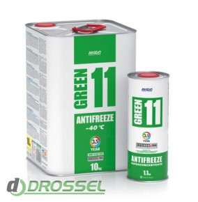 Антифриз Xado (Хадо) Antifreeze Green 11 -40