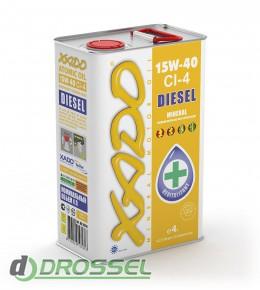Моторное масло Xado (Хадо) Atomic Oil Diesel 15w-40 CI-4