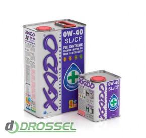 Моторное масло Xado (Хадо) Atomic Oil 0w-40 SL/CF_2