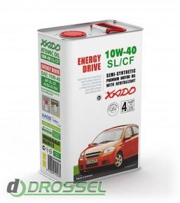 Моторное масло Xado (Хадо) Atomic Oil 10w-40 SL/CF