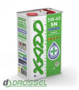 Моторное масло Xado (Хадо) Atomic Oil 5w-40 SN