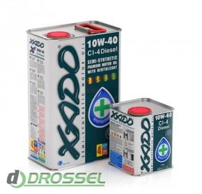 Моторное масло Xado (Хадо) Atomic Oil 10w-40 CI-4 Diesel_2