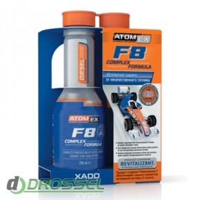 Xado (Хадо) Revitalizant AtomEx F8 Complex Formula (Diesel)